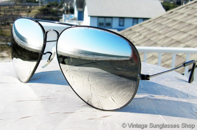 4efd3695da7 Ray Ban Chrome Mirror Aviators « Heritage Malta