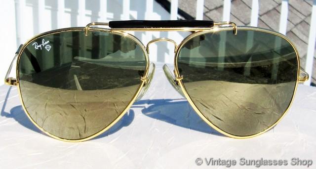 df259a76578 Ray-Ban Diamond Hard Arista Black General 62mm Aviator Sunglasses