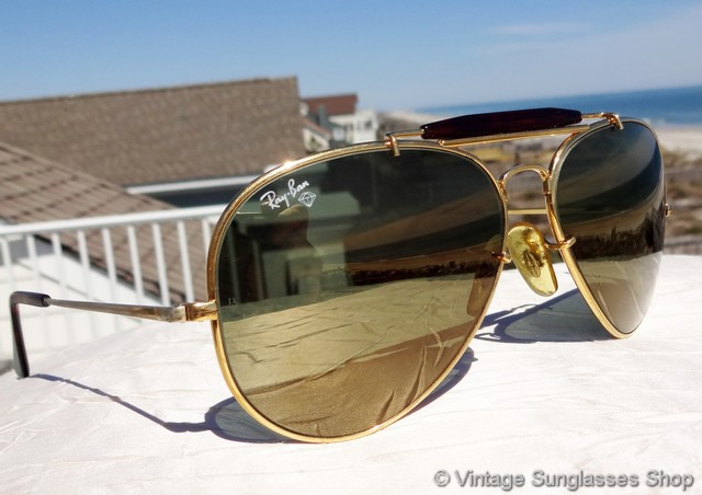 old ray ban aviator models
