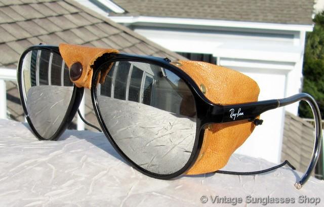Ray Ban L1601 Arctic Cats 8000 G 31 Mirrored Glacier Glasses