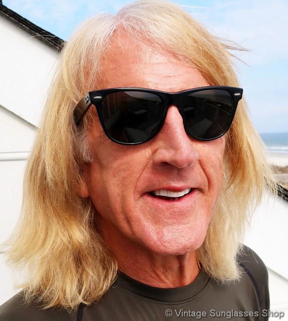a19f15a3381ec9 Ray-Ban Black Wayfarer II Sunglasses