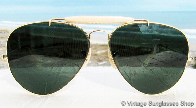 e757c36ab0 ... the unisex Ray-Ban L2112 Arista Outdoorsman frame measures  approximately 5.5