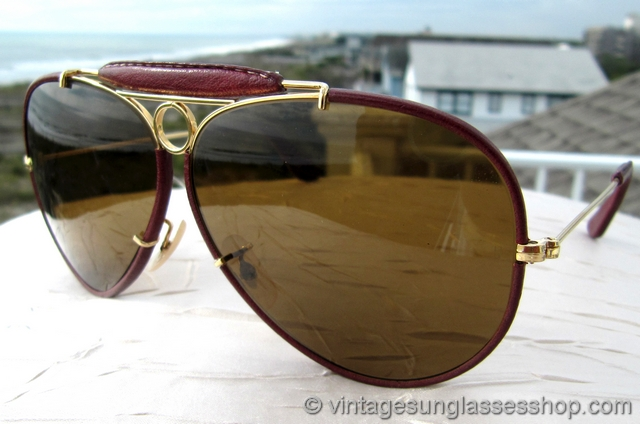 Ray Ban Wayfarer Leather Sunglasses  vintage ray ban sunglasses for men and women page 39