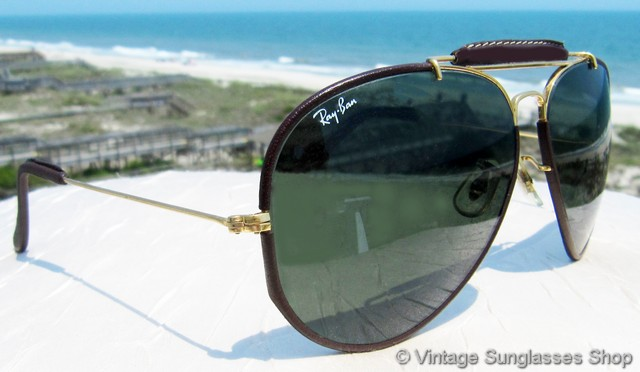 Ray Ban Wayfarer Leather Sunglasses  vintage ray ban sunglasses for men and women page 31