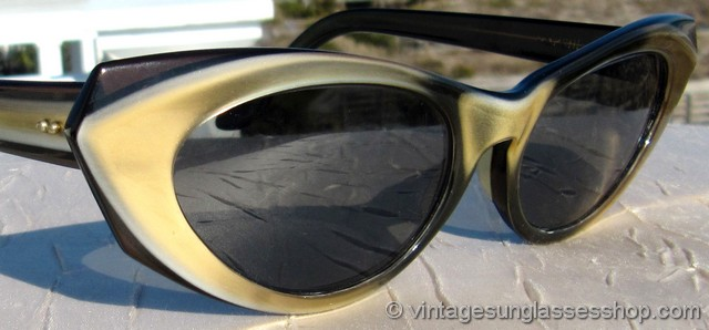 a0c9601684204 VS1052  Vintage Ray-Ban Marche cat eye sunglasses c late 1950s   early  1960s created a frenzy among women buyers when first introduced