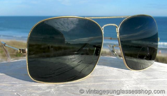 dd342534336 Ray-Ban Military Caravan G-15 Sunglasses