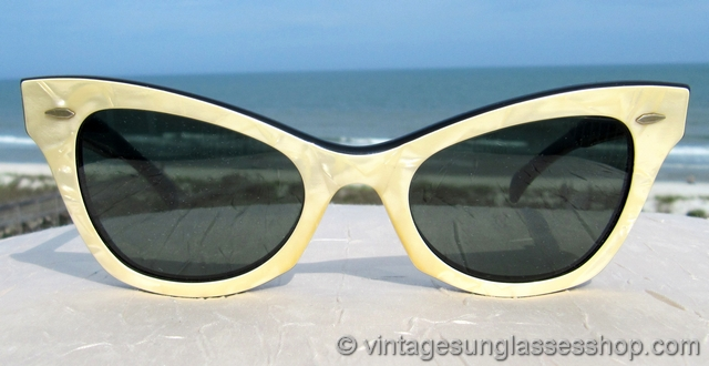 Ray Ban Glasses Frames Pearle Vision : Vintage 1950s and 1960s Cats Eye Sunglasses - Page 5