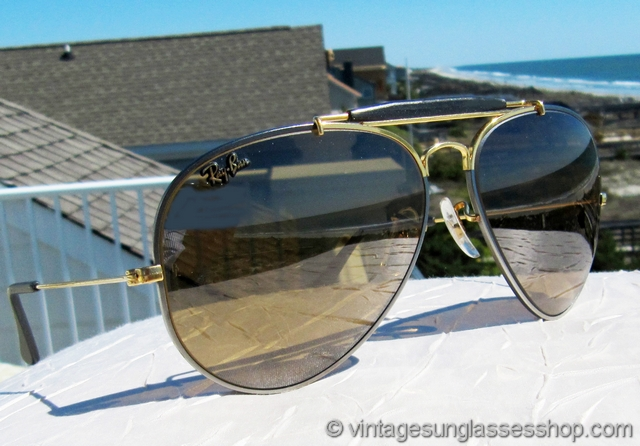 4fbb1b11ab4 ... australia ray ban precious metals outdoorsman ii mirrored sunglasses  0d408 054b6