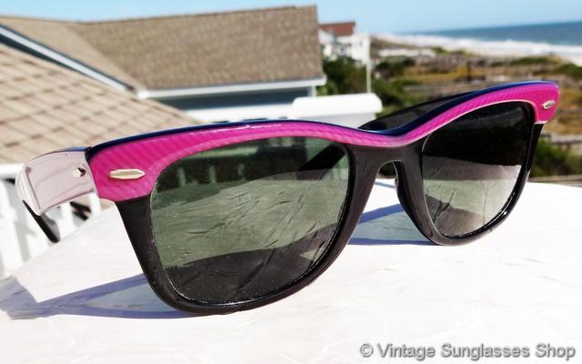 318809564f Ray-Ban W0492 Wayfarer Street Neat Amethyst Purple Sunglasses