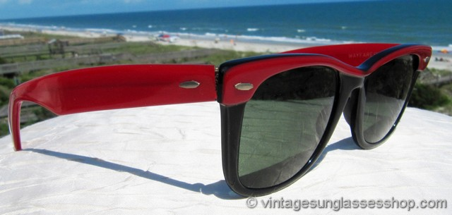 2c0caf08ef discount code for ray ban red black ebony wayfarer street neat sunglasses  3e2dd f8540