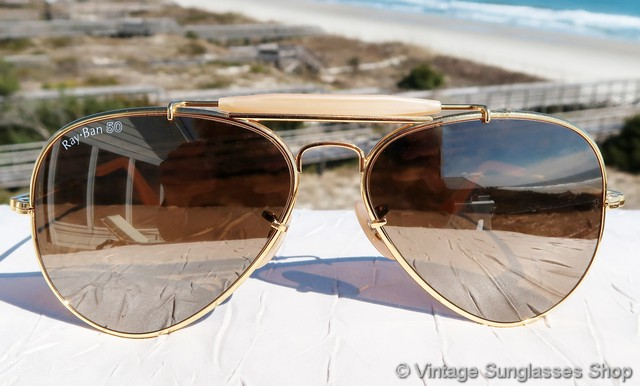 1064f218bb9 Ray-Ban W0363 and W0364 50th Anniversary The General Sunglasses