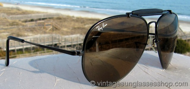 Black Aviator Sunglasses For Men Ray Ban Ray Ban 62mm Black Aviator