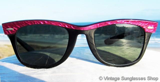 af008990bd Ray-Ban W0523 Wayfarer Street Neat Amethyst Sunglasses