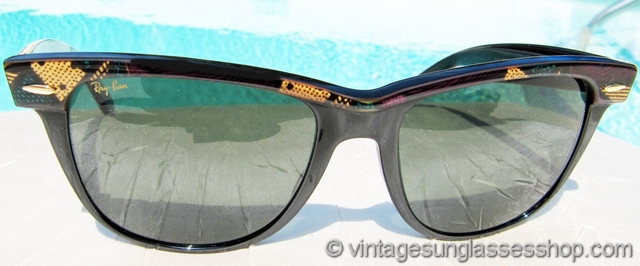 b9a2cce2c453d VS442  Vintage B L Ray-Ban W1281 1992 Olympics commemorative Wayfarer  sunglasses are one of the most popular individual styles of anything in the  Ray-Ban ...