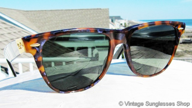 ray ban limited edition blue