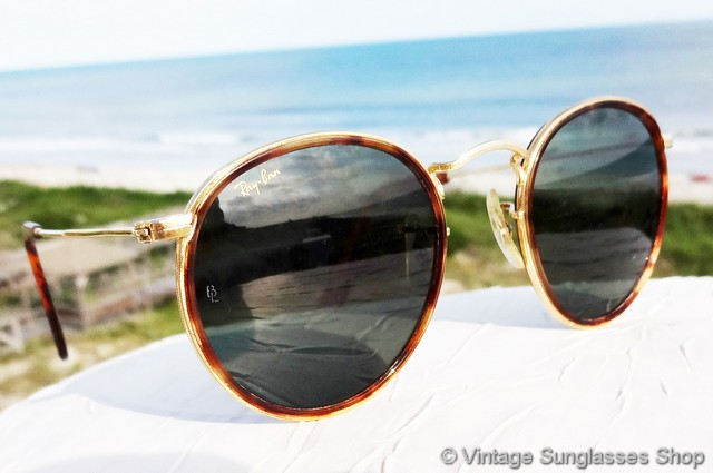 gold rimmed ray bans mw66  VS437: Vintage B&L Ray-Ban W1674 Arista sunglasses are one of the most  beautiful designs Bausch & Lomb ever produced, with 24k gold plated Arista  frame that