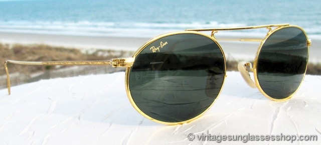 Ray Ban W1696 Vintage Oval Sunglasses