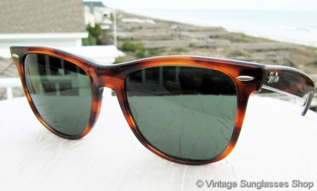 1b23a4b671 Ray-Ban Wayfarer II Tortoise Shell Sunglasses