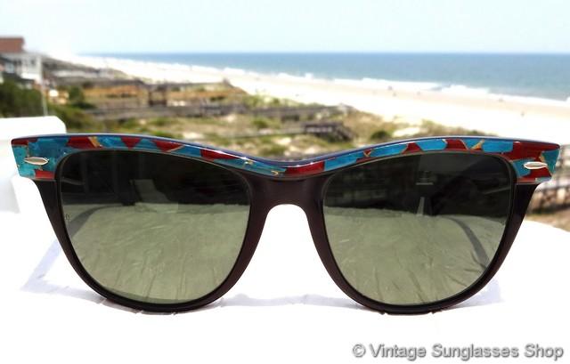 9b37b56352 VS1872  Vintage Ray-Ban W1092 Wayfarer II Street Neat sunglasses combine  the size and shape of the traditional Ray-Ban Wayfarer II with the colorful  and ...