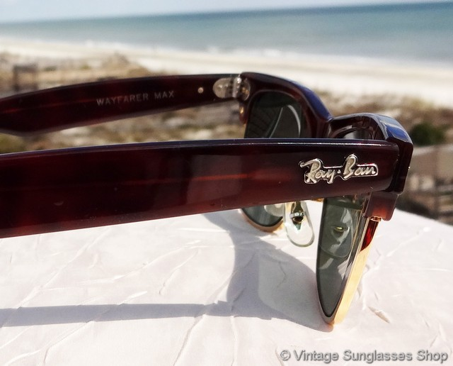 a02de36799 VS399  Vintage W1270 Wayfarer Max sunglasses with the most popular  combination of mock tortoise shell and Bausch   Lomb G-15 anti-glare lenses  are very hard ...
