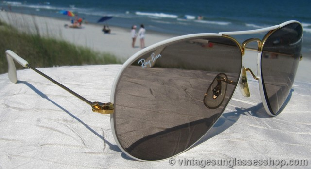 ray bans sunglasses white  photo 3