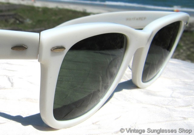 ray bans sunglasses white  photo 8