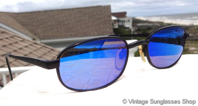 20e49067156 VS539  Vintage and rare Revo 1126 001 blue mirror H20 sunglasses are a  slightly larger size but otherwise identical to Revo 1107 sunglasses