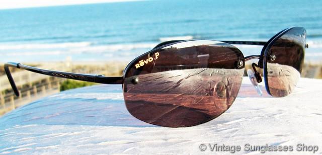 e8cf70ee42 Revo Mooring Polarized Rimless Sunglasses