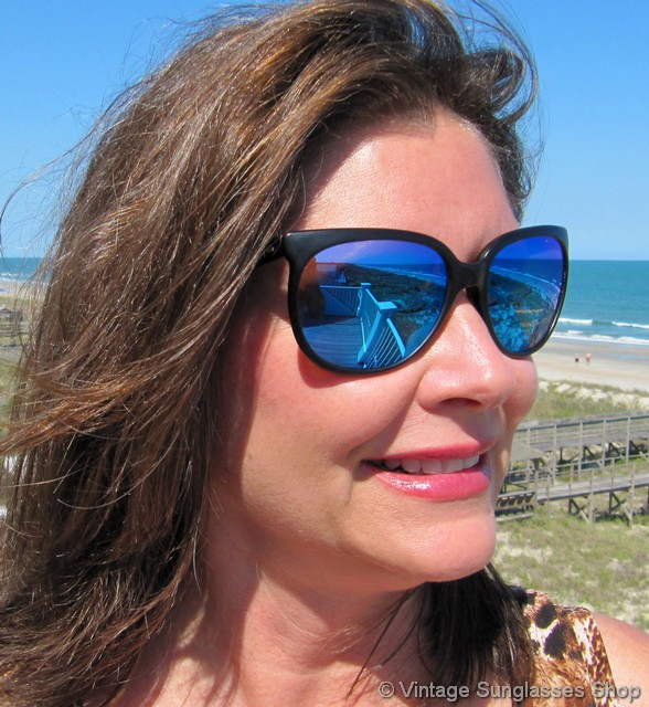 6aeeba01a2 Revo 850 001 Grand Classic Blue Mirror Sunglasses