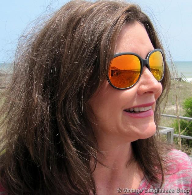 4c8fd005f5 Revo Grand Classic Orange Mirror Sunglasses