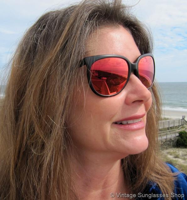 90cd07dd74 Revo 850 001 Grand Classic Red Mirror Sunglasses