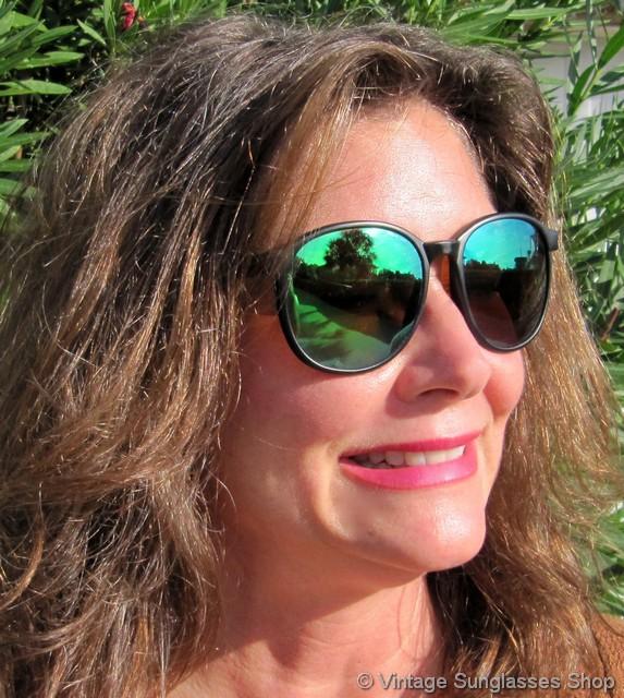 fantastic savings hot products new products Revo 860 Spirit Green Mirror Sunglasses