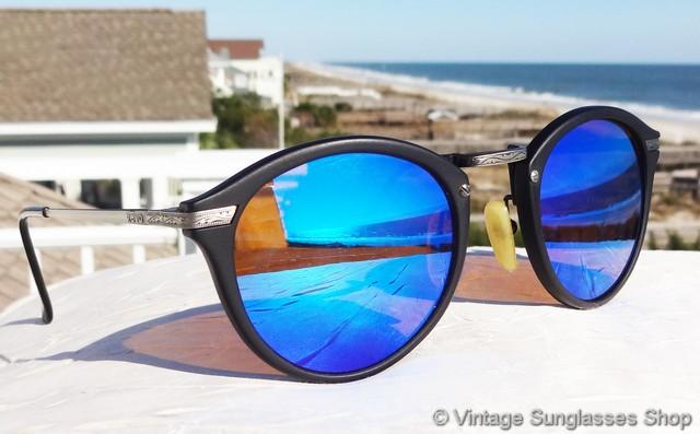 2a3586c187e0 VS001  Vintage Revo 953 001 Combo Round sunglasses