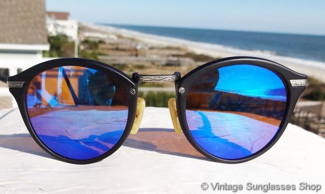52364754e49 Revo Blue Mirrored Sunglasses