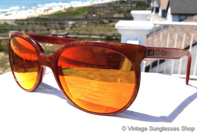 ddc3c908fb Revo 850 Orange Mirror Grand Classic Sunglasses