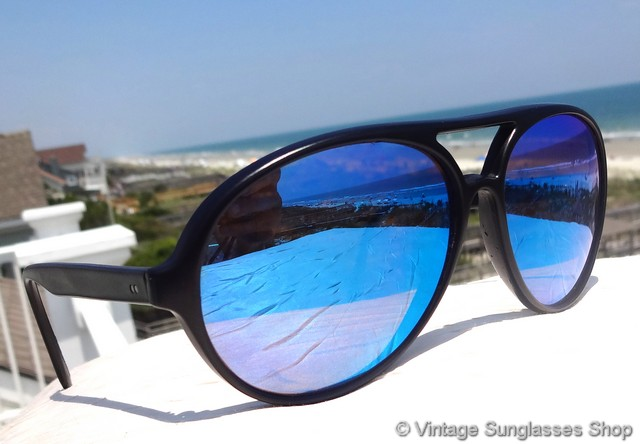 9c3de85f775 Revo Venture Aviator Blue Mirror Sunglasses