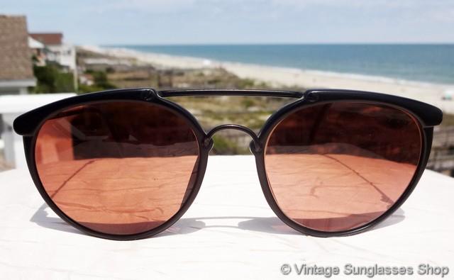 New Serengeti Drivers Sunglasses 6406 Black Frame NWT