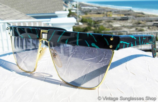 7924e6a3a97e VS2599  Vintage Versace Perspectives 402 910 sunglasses c early 1980s were  one of the first styles of sunglasses designed and produced by Gianni  Versace