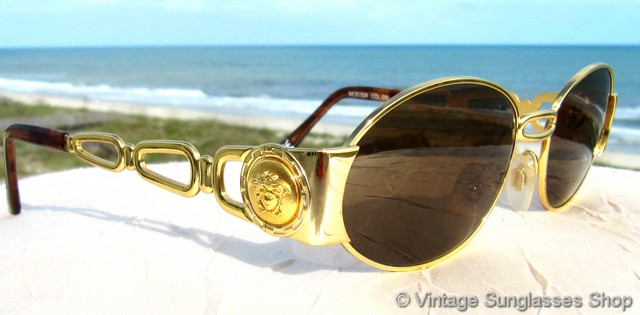 Versace Medusa Sunglasses  vintage versace sunglasses for men and women