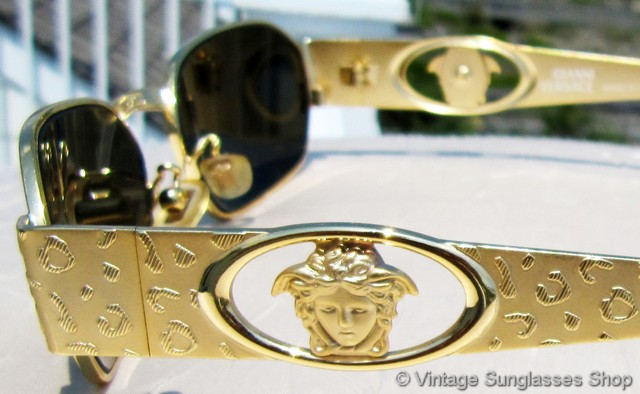 Vintage Versace Sunglasses For Men And Women
