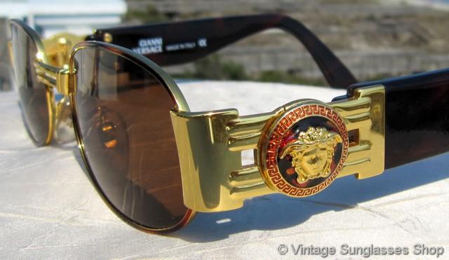 Versace Medusa Sunglasses  versace s70 col 07m sunglasses