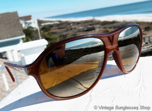 d4cb766e94 Vintage Vuarnet Skilynx 085 Aviator Sunglasses