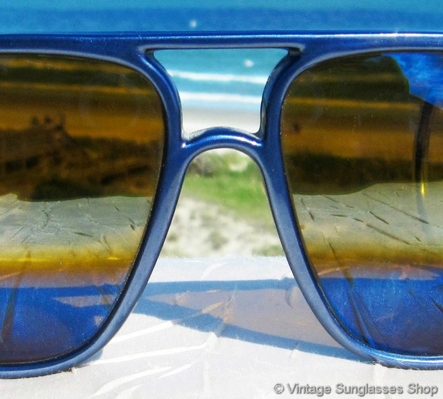 Vuarnet Nautilux Sunglasses  vuarnet 117 nautilux blue outdoorsman sunglasses