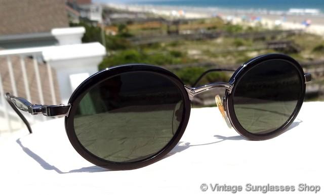 831b134023 Vuarnet 437 Black PX-3000 Sunglasses