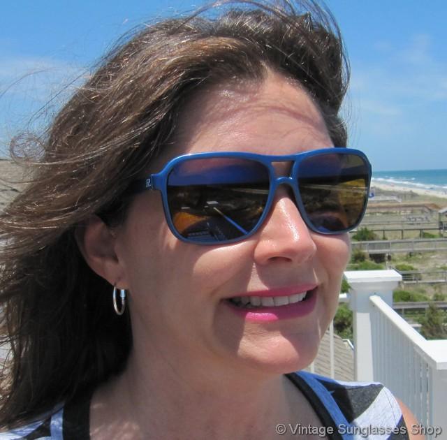 Vuarnet Nautilux Sunglasses  vuarnet 003 blue nautilux sunglasses