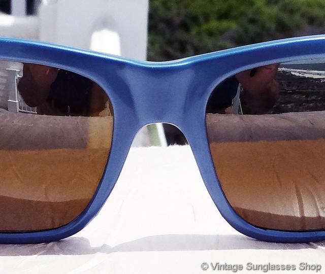 Vuarnet Sunglasses VL 1125 Px3000 GLASS LENS LARGE BLACK SPORTS WRAP *NEW*